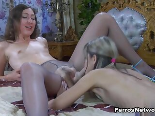 Pantyhose1 Video: Emily B and Gina Gerson
