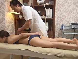 Stabbing Join in matrimony Gets Perverted Rub down (Censored JAV)