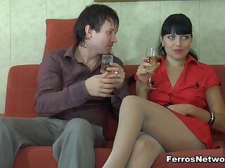 PantyhoseJobs Clip: Muriel clone there Rolf