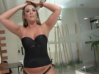 Awesome pornstar Alessandra Maia to dazzling cunnilingus, beauteous coition span