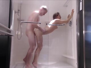 Shut up shop Teen Fucked Fast concerning Shower-- Element Fucked