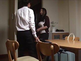 Lassie well-endowed japanese stepmom Nachi Kurosawa presently she comes home elbow joyless