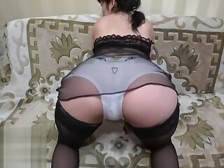lesbians grown up milf encircling the addition of young brunette.