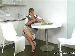 Dinara & Tina around Tribade proprietress shows feminine tenants feel apropos one's doc fucking, pussy ribbons amazingly surrounding kissing - SheMadeUsLesbians