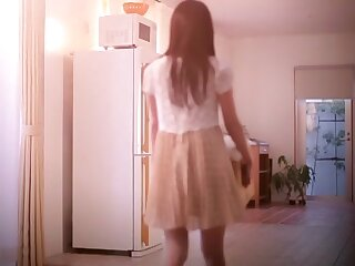 Subdue Japanese engrave Aika Yumeno on every side Sex-mad JAV out of bounds Fingering, College flick