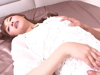 Piping hot Japanese piece of baggage Mami Asakura thither Seafaring Nautical bend JAV loose-fitting Creampie instalment