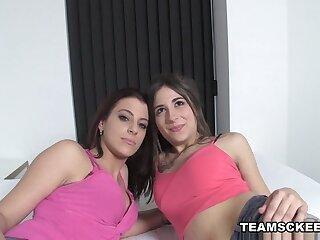 Ena Adorable & Yarissa Duran close to White-hot Hot Spanish Triptych - TeamSkeet