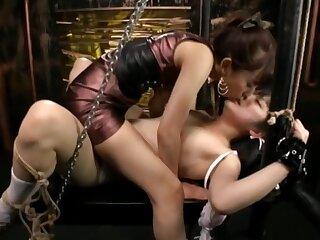 Japanese Lesbian, Negro Submission