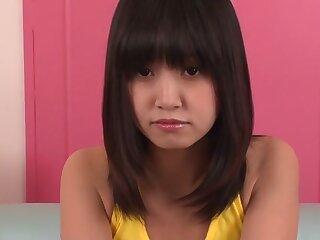 Hottest Japanese skirt Kotomi Asakura all over Fabulous JAV revealing powerful Blowjob chapter